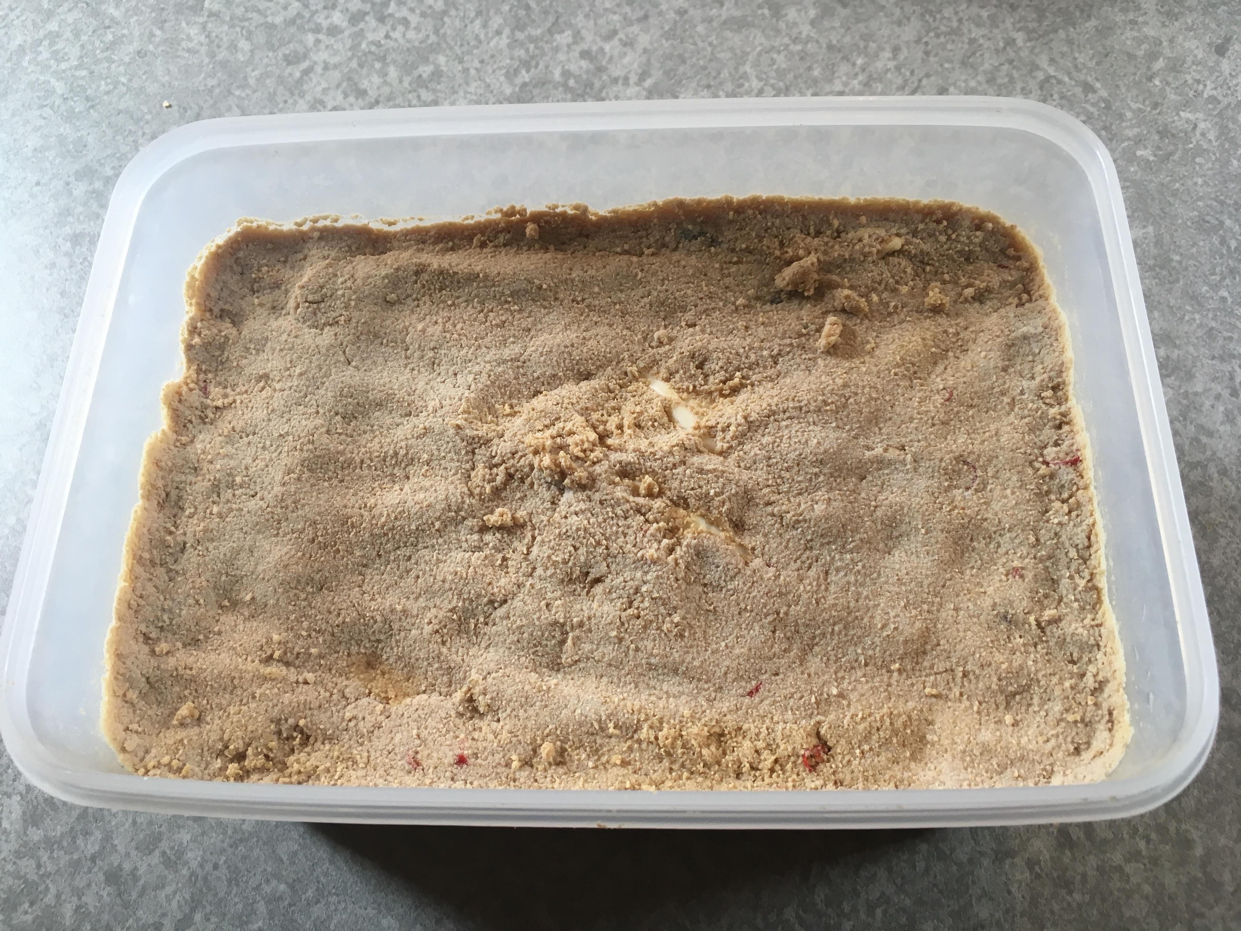 ぬか床作りを始めて10日後のぬか床。酸膜酵母あり。