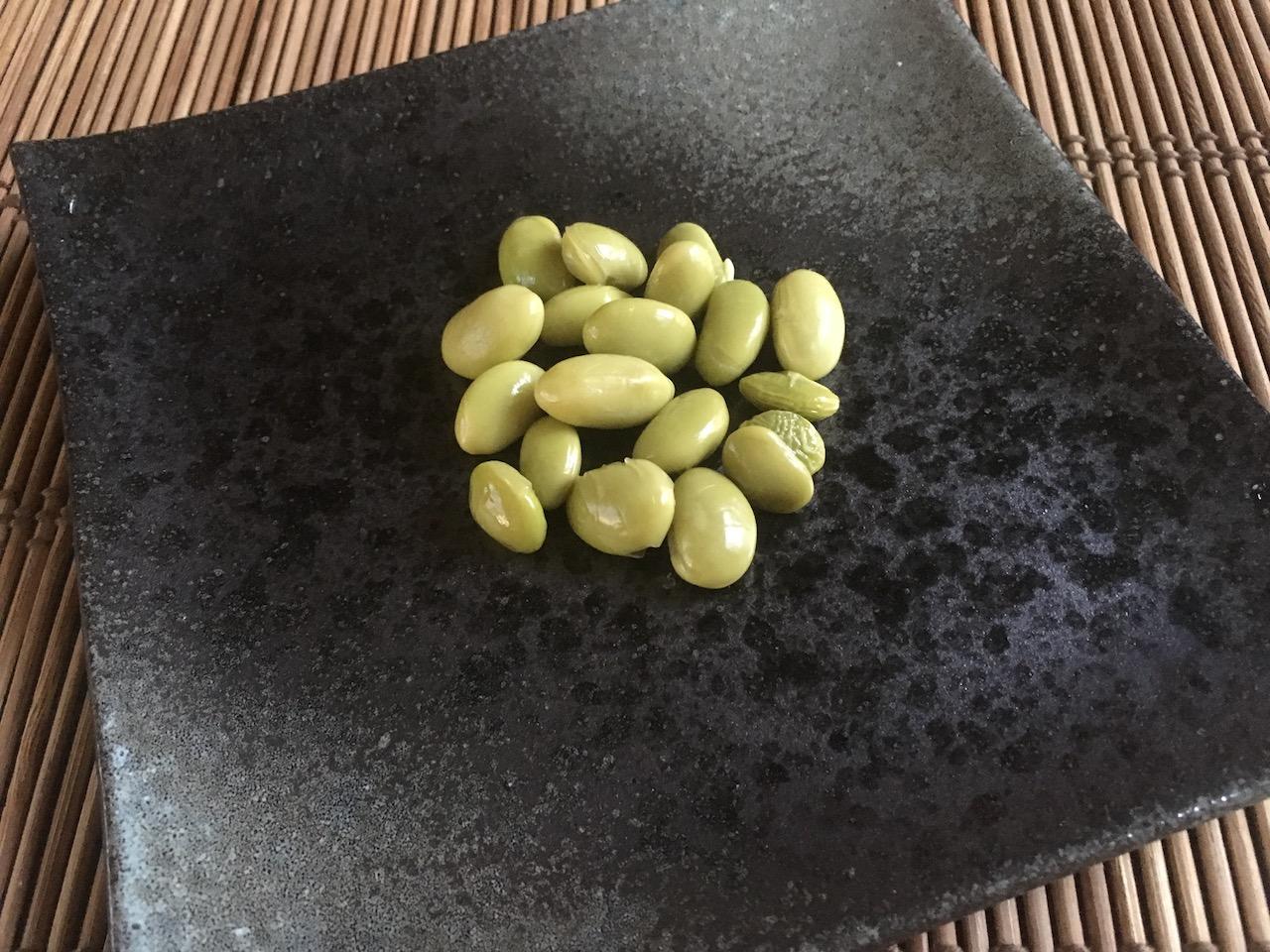 お茶パックを使って作った枝豆のぬか床