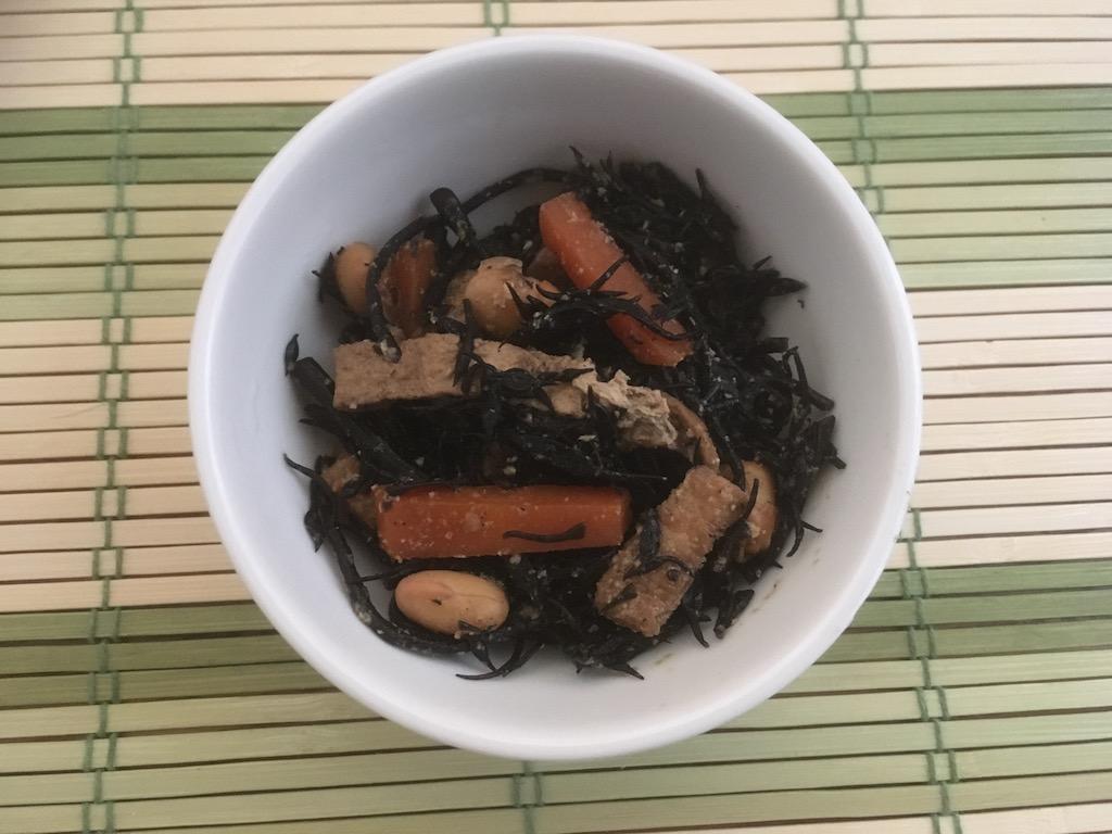 米ぬかを使ったひじきの煮物②