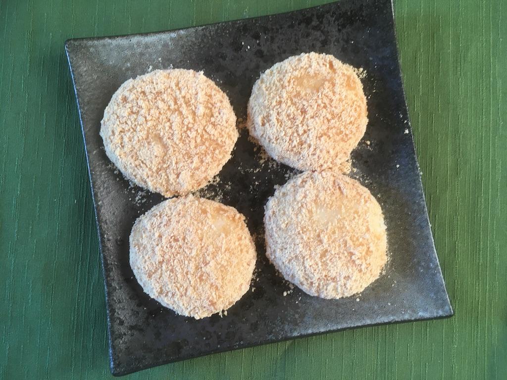 米ぬかを使ったきな粉餅のレシピ②