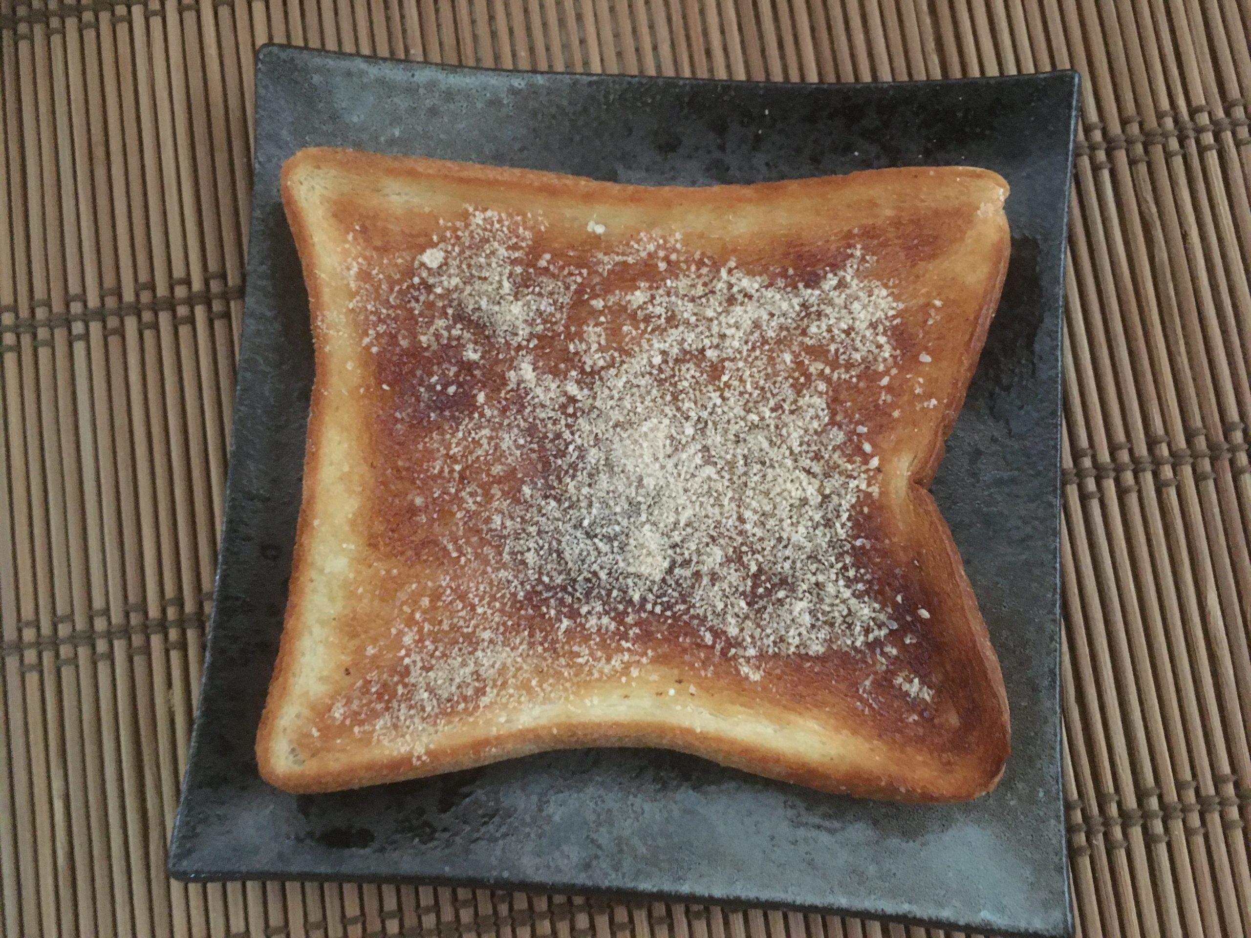 米ぬかをかけた食パン