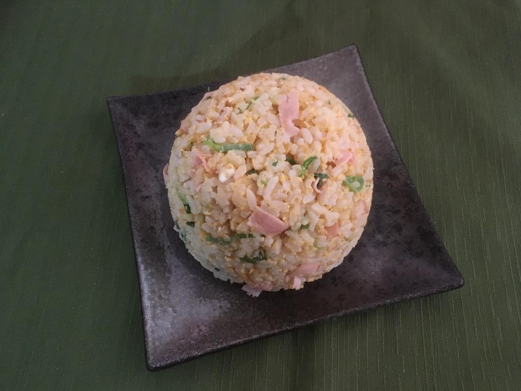 米ぬかで作った焼き飯①