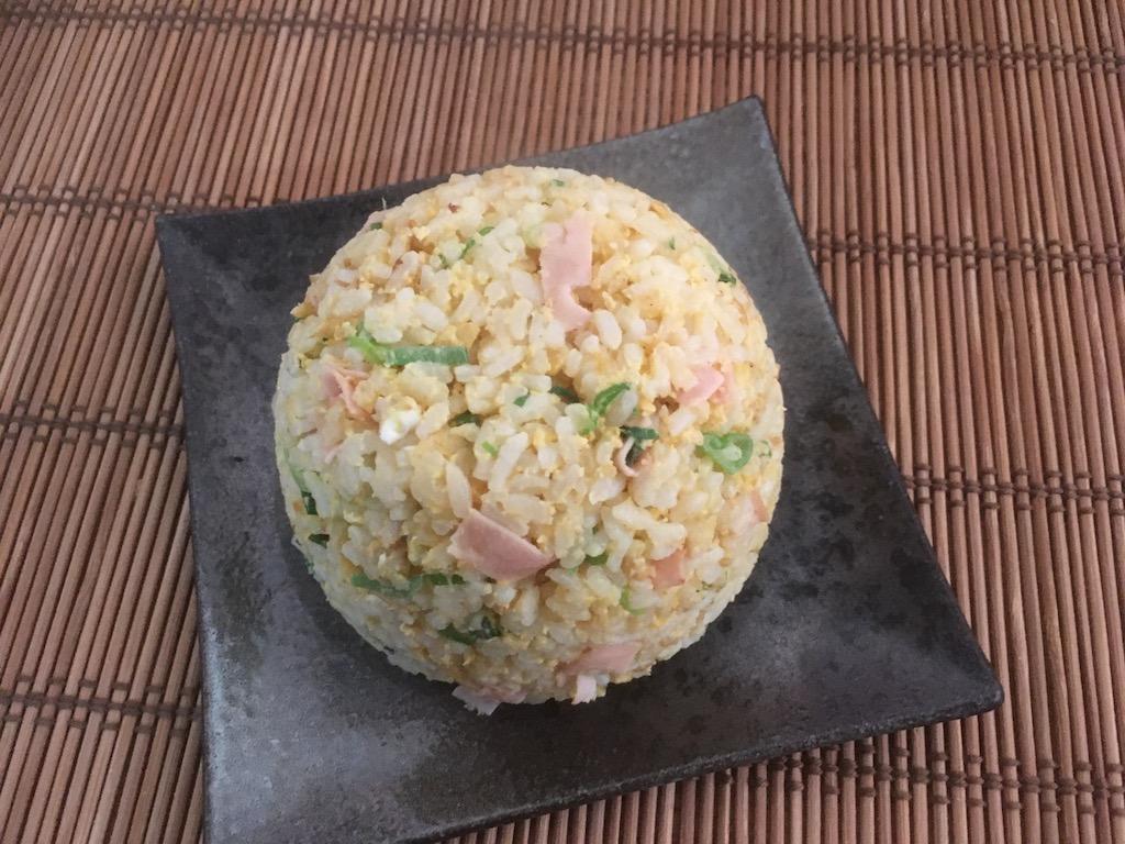 米ぬかで作った焼き飯②