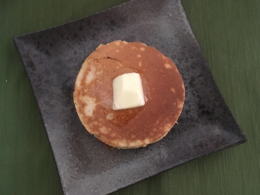 米ぬかを使ったホットケーキ①