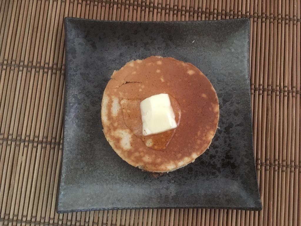 米ぬかを使ったホットケーキ②