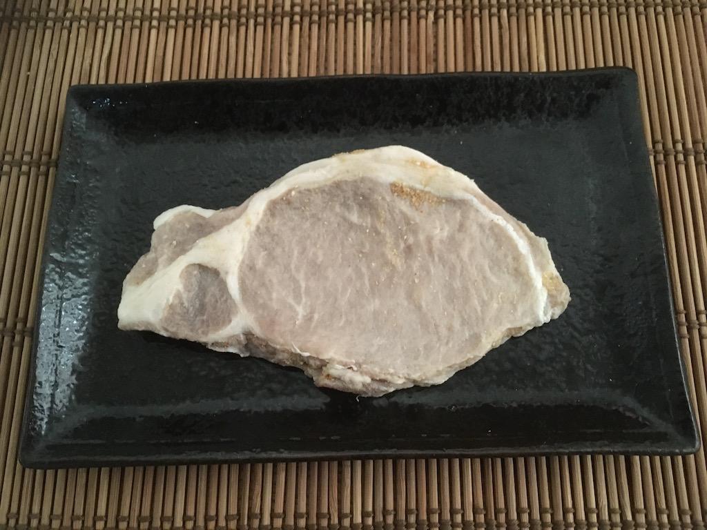 6日ぬか床で漬けた豚肉ロース