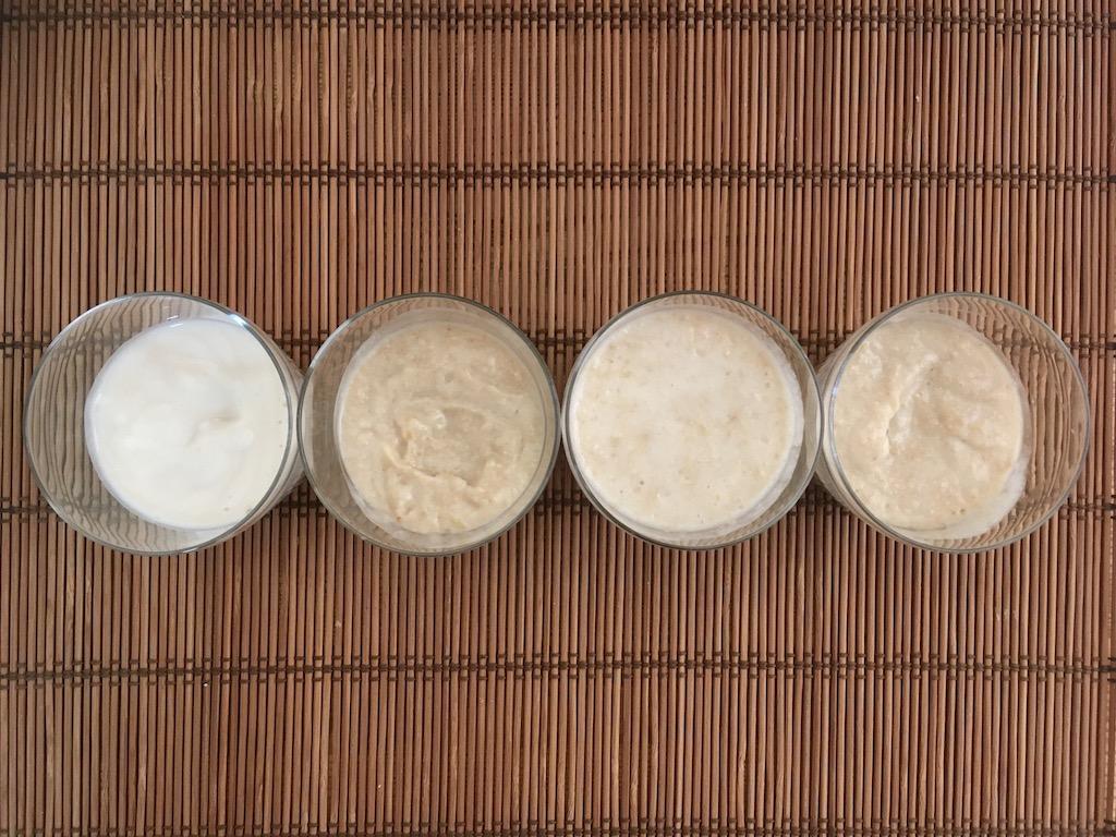 玄米の甘酒4種類①