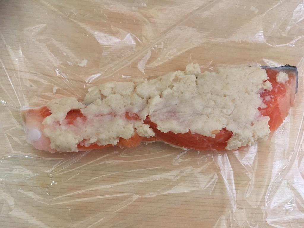 鮭の粕漬け焼き③