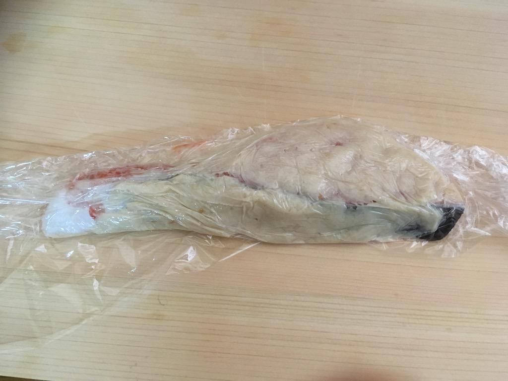 鮭の粕漬け焼き①