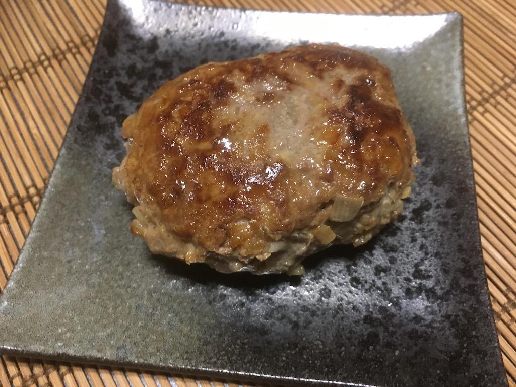 合い挽き肉×塩麹のハンバーグ③