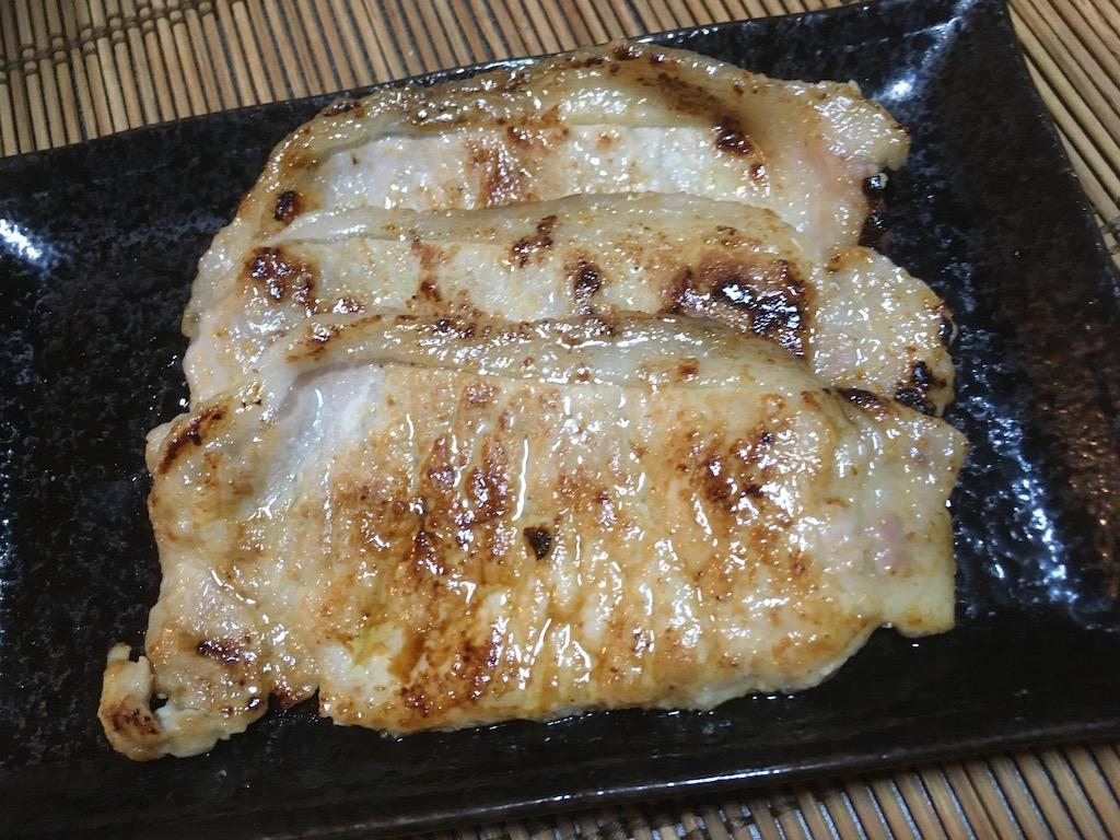 豚ロースの塩麹焼き×3枚